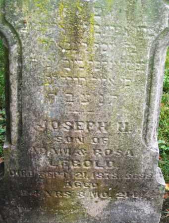 LEBOLD, JOSEPH H. - Montgomery County, Ohio | JOSEPH H. LEBOLD - Ohio Gravestone Photos