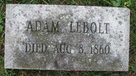 LEBOLT/LEBOLD ?, ADAM - Montgomery County, Ohio | ADAM LEBOLT/LEBOLD ? - Ohio Gravestone Photos