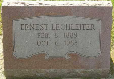 LECHLEITER, ERNEST - Montgomery County, Ohio | ERNEST LECHLEITER - Ohio Gravestone Photos
