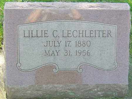 LECHLEITER, LILLIE - Montgomery County, Ohio | LILLIE LECHLEITER - Ohio Gravestone Photos