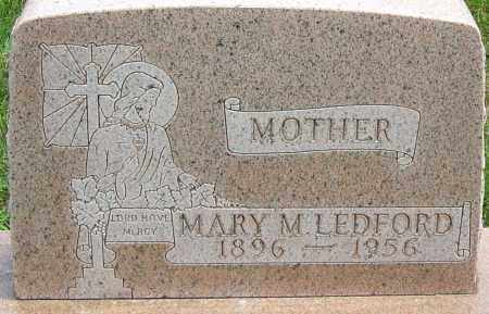 LEDFORD, MARY - Montgomery County, Ohio | MARY LEDFORD - Ohio Gravestone Photos