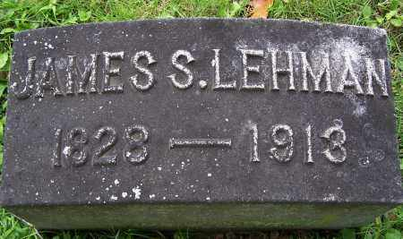 LEHMAN, JAMES S - Montgomery County, Ohio | JAMES S LEHMAN - Ohio Gravestone Photos