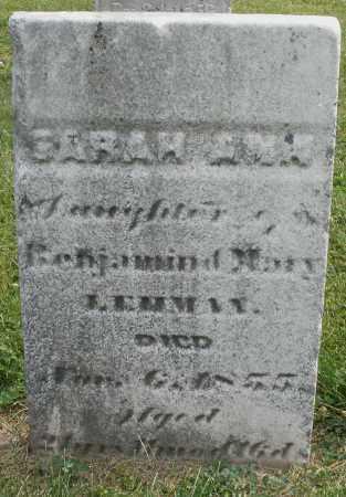 LEHMAN, SARAH ANN - Montgomery County, Ohio | SARAH ANN LEHMAN - Ohio Gravestone Photos