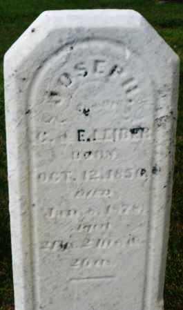 LEIBER, JOSEPH - Montgomery County, Ohio | JOSEPH LEIBER - Ohio Gravestone Photos