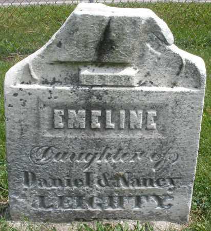 LEIGHTY, EMELINE - Montgomery County, Ohio | EMELINE LEIGHTY - Ohio Gravestone Photos