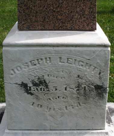 LEIGHTY, JOSEPH - Montgomery County, Ohio | JOSEPH LEIGHTY - Ohio Gravestone Photos