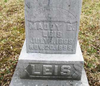 LEIS, MAUDY E. - Montgomery County, Ohio | MAUDY E. LEIS - Ohio Gravestone Photos
