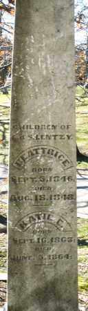 LENTZY, KATIE - Montgomery County, Ohio | KATIE LENTZY - Ohio Gravestone Photos