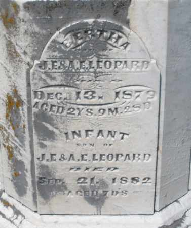 LEOPARD, BERTHA - Montgomery County, Ohio | BERTHA LEOPARD - Ohio Gravestone Photos