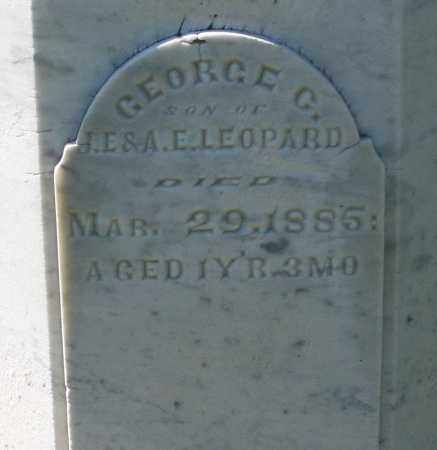 LEOPARD, GEORGE C. - Montgomery County, Ohio | GEORGE C. LEOPARD - Ohio Gravestone Photos
