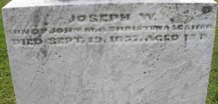 LESHER, JOSEPH W. - Montgomery County, Ohio | JOSEPH W. LESHER - Ohio Gravestone Photos