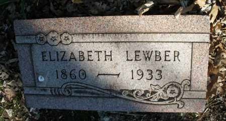 LEWBER, ELIZABETH - Montgomery County, Ohio | ELIZABETH LEWBER - Ohio Gravestone Photos