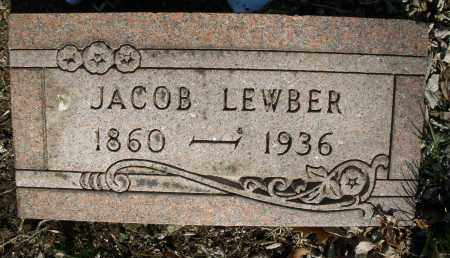 LEWBER, JACOB - Montgomery County, Ohio | JACOB LEWBER - Ohio Gravestone Photos