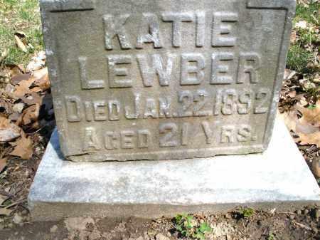 LEWBER, KATIE - Montgomery County, Ohio | KATIE LEWBER - Ohio Gravestone Photos