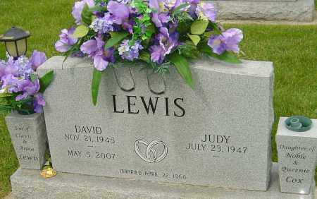LEWIS, DAVID - Montgomery County, Ohio | DAVID LEWIS - Ohio Gravestone Photos