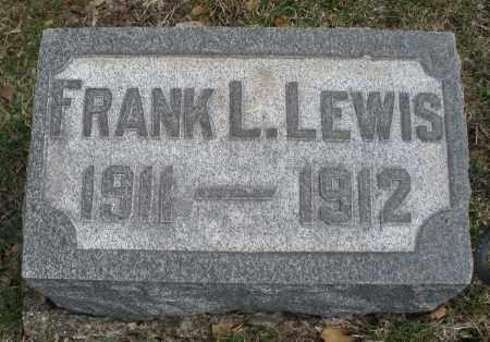 LEWIS, FRANK L. - Montgomery County, Ohio | FRANK L. LEWIS - Ohio Gravestone Photos