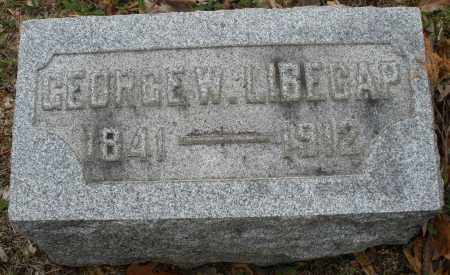 LIBECAP, GEORGE - Montgomery County, Ohio | GEORGE LIBECAP - Ohio Gravestone Photos