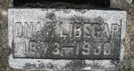 LIBECAP, ONA - Montgomery County, Ohio | ONA LIBECAP - Ohio Gravestone Photos