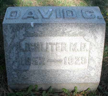 LICHLITER, DAVID C. M.D. - Montgomery County, Ohio | DAVID C. M.D. LICHLITER - Ohio Gravestone Photos