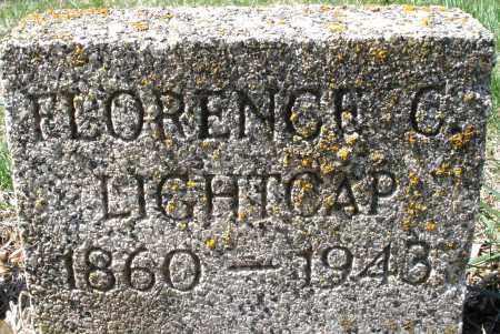 LIGHTCAP, FLORENCE C. - Montgomery County, Ohio | FLORENCE C. LIGHTCAP - Ohio Gravestone Photos