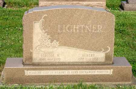 LIGHTNER, FLOSSIE M. - Montgomery County, Ohio | FLOSSIE M. LIGHTNER - Ohio Gravestone Photos