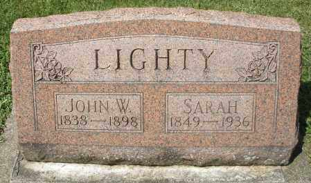 LIGHTY, JOHN W. - Montgomery County, Ohio | JOHN W. LIGHTY - Ohio Gravestone Photos