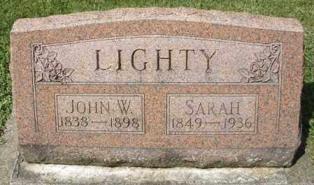 LIGHTY, SARAH - Montgomery County, Ohio | SARAH LIGHTY - Ohio Gravestone Photos