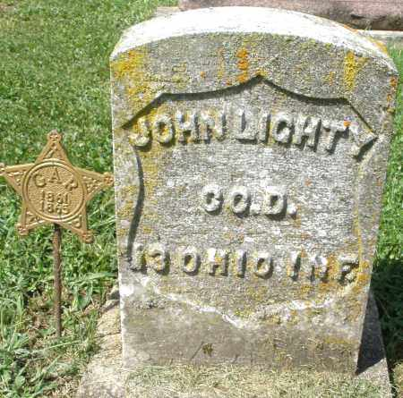 LIGHTY, JOHN - Montgomery County, Ohio | JOHN LIGHTY - Ohio Gravestone Photos