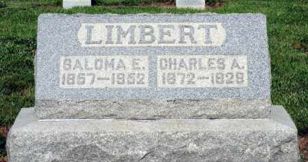 LIMBERT, SALOMA E. - Montgomery County, Ohio | SALOMA E. LIMBERT - Ohio Gravestone Photos