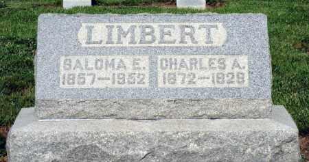 LIMBERT, CHARLES A. - Montgomery County, Ohio | CHARLES A. LIMBERT - Ohio Gravestone Photos