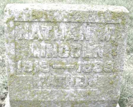 LINCOLN, NATHAN W. - Montgomery County, Ohio | NATHAN W. LINCOLN - Ohio Gravestone Photos