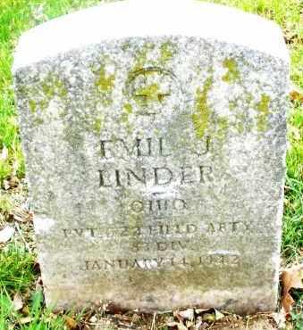 LINDER, EMIL J. - Montgomery County, Ohio | EMIL J. LINDER - Ohio Gravestone Photos