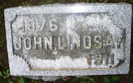 LINDSAY, JOHN - Montgomery County, Ohio | JOHN LINDSAY - Ohio Gravestone Photos