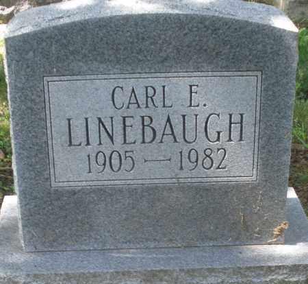 LINEBAUGH, CARL E. - Montgomery County, Ohio | CARL E. LINEBAUGH - Ohio Gravestone Photos