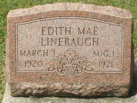 LINEBAUGH, EDITH MAE - Montgomery County, Ohio | EDITH MAE LINEBAUGH - Ohio Gravestone Photos