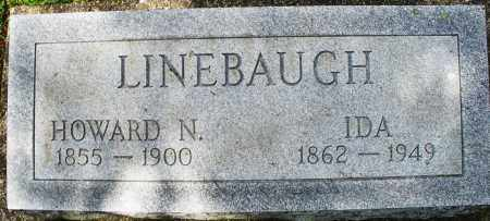 LINEBAUGH, HOWARD N. - Montgomery County, Ohio | HOWARD N. LINEBAUGH - Ohio Gravestone Photos