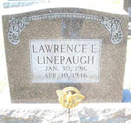 LINEBAUGH, LAWRENCE E. - Montgomery County, Ohio | LAWRENCE E. LINEBAUGH - Ohio Gravestone Photos