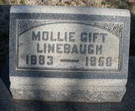 LINEBAUGH, MOLLIE - Montgomery County, Ohio | MOLLIE LINEBAUGH - Ohio Gravestone Photos