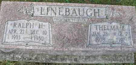 LINEBAUGH, RALPH H. - Montgomery County, Ohio | RALPH H. LINEBAUGH - Ohio Gravestone Photos