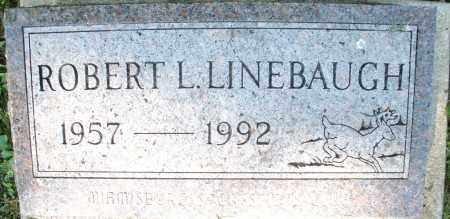 LINEBAUGH, ROBERT L. - Montgomery County, Ohio | ROBERT L. LINEBAUGH - Ohio Gravestone Photos