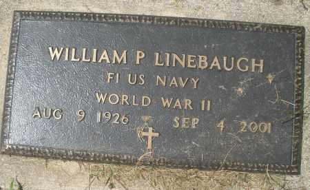 LINEBAUGH, WILLIAM P. - Montgomery County, Ohio | WILLIAM P. LINEBAUGH - Ohio Gravestone Photos