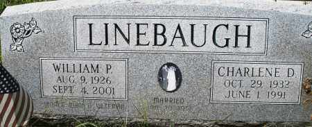 LINEBAUGH, CHARLENE D. - Montgomery County, Ohio | CHARLENE D. LINEBAUGH - Ohio Gravestone Photos
