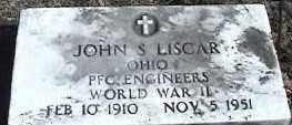 LISCAR, JOHN S. - Montgomery County, Ohio | JOHN S. LISCAR - Ohio Gravestone Photos