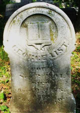 LIST, GEORGE - Montgomery County, Ohio | GEORGE LIST - Ohio Gravestone Photos