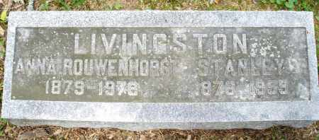 LIVINGSTON, STANLEY - Montgomery County, Ohio | STANLEY LIVINGSTON - Ohio Gravestone Photos