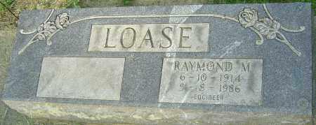 LOASE, RAYMOND M - Montgomery County, Ohio | RAYMOND M LOASE - Ohio Gravestone Photos