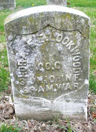 LOCKWOOD, HORACE - Montgomery County, Ohio | HORACE LOCKWOOD - Ohio Gravestone Photos