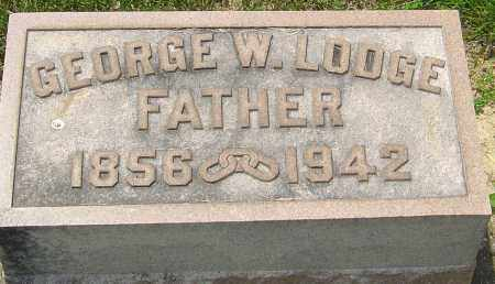 LODGE, GEORGE W - Montgomery County, Ohio | GEORGE W LODGE - Ohio Gravestone Photos