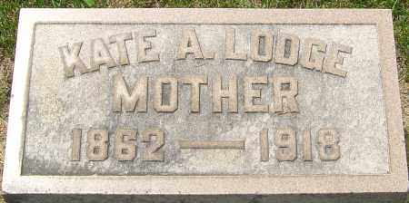 SMITH LODGE, KATE A - Montgomery County, Ohio | KATE A SMITH LODGE - Ohio Gravestone Photos