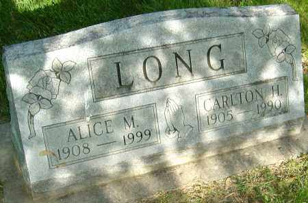 LONG, CARLTON H - Montgomery County, Ohio | CARLTON H LONG - Ohio Gravestone Photos